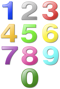 colorednumbers